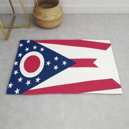 flag of Ohio,Midwest,Ohioan,Buckeye,Colombus,Cleveland,Cincinnati,Usa,america,united states,us Rug