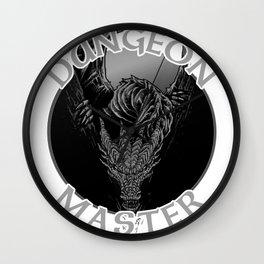 D20 Dragon Dungeon Master Wall Clock