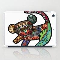 simba iPad Cases featuring Simba by Ilse S