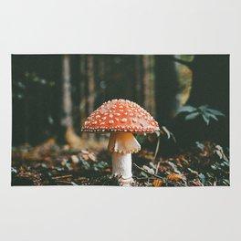 Forest Mushroom Rug