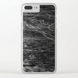 Icy Days NO5 Clear iPhone Case