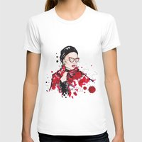 vogue T-shirts featuring VOGUE by CARLOS CASANOVA