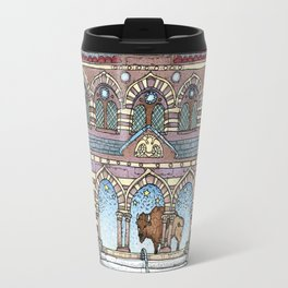 Chapel Hall Gallaudet University Travel Mug