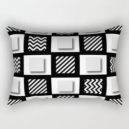 Multiple Personality Rectangular Pillow