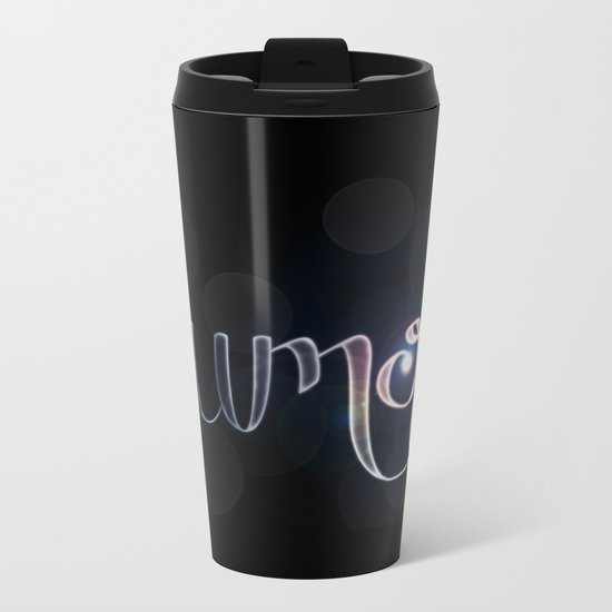 Harry Potter Incantation Collection : Lumos Metal Travel Mug
