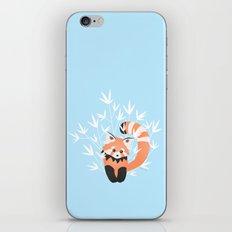 Baby Red Panda / Sky iPhone & iPod Skin