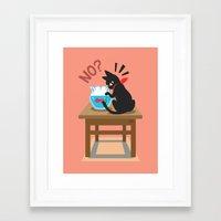goldfish Framed Art Prints featuring Goldfish by BATKEI