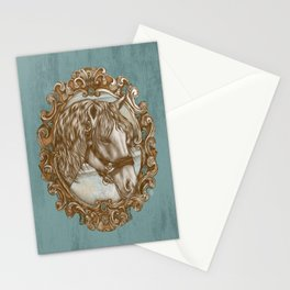 Ornate Horse Portrait Stationery Cards