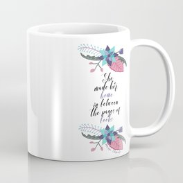 Maggie Stiefvater Pages of Books Quote Coffee Mug