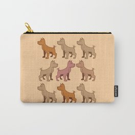 Nine dogs  Carry-All Pouch