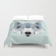 W is for Wolf Duvet Cover
