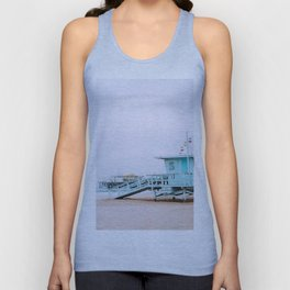 Santa Monica Pier Lifeguard Unisex Tank Top