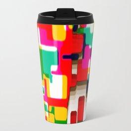 Arcade Crayon Collage Travel Mug
