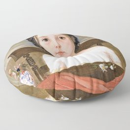 Madox Brown - Millie Smith - Digital Remastered Edition Floor Pillow