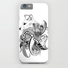 Inking Fox and Bird iPhone 6s Slim Case