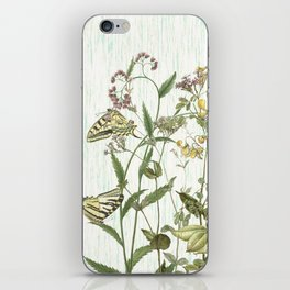 Cultivating my mind garden iPhone Skin