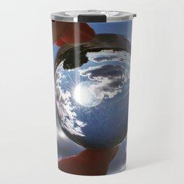 The World in Our Fingertips Travel Mug