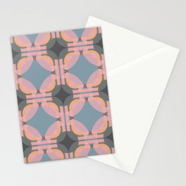 Chichevache - Colorful Decorative Abstract Art Pattern Stationery Cards