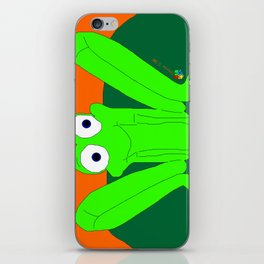 Shy Froggy iPhone Skin