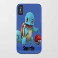 squirtle iPhone & iPod Cases featuring Squirtle by Yamilett Pimentel