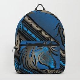 Horse Nation (Blue) Backpack