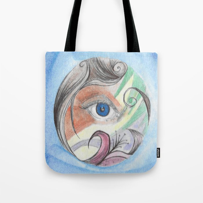 Color Vision Tote Bag