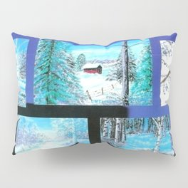 """ Winter Collage II "" Pillow Sham"