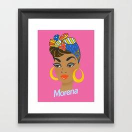 Morena Doll Framed Art Print