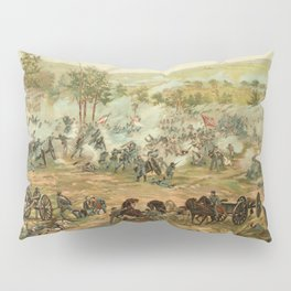 Civil War Battle of Gettysburg July 1-3 1863 by Paul Philippoteaux Pillow Sham