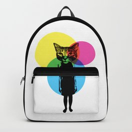 Cat Stuck In A Human Body Backpack