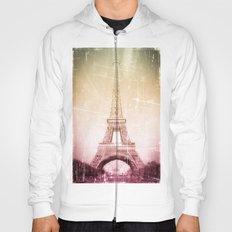 Eiffel Tower in Color Hoody