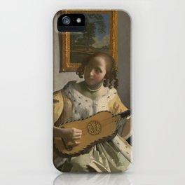 "Johannes Vermeer ""The Guitar Player"" iPhone Case"
