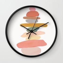 Balancing Stones 22 Wall Clock