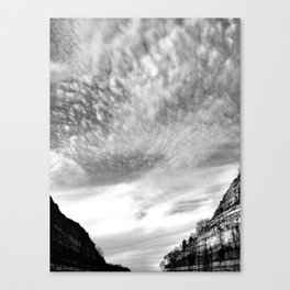 Canyon Sky Canvas Print