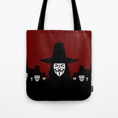 Million Mask March Tote Bag