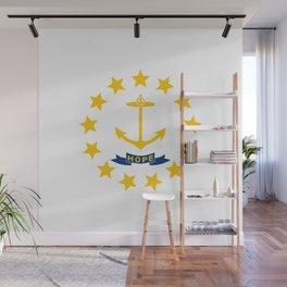 Rhode Island State Flag Wall Mural