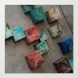 Single Ceramic Tiles Canvas Print