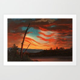 Our Banner In The Sky Art Print