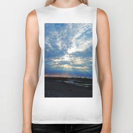 Parting of the Clouds Biker Tank