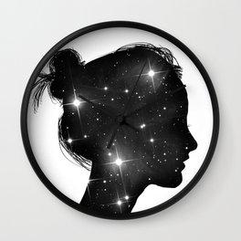 Star Sister Wall Clock