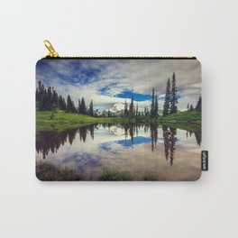 Mountain Reflections Mt Rainier Washington Carry-All Pouch