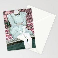 Sitting Girl Stationery Cards