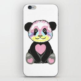 I Love Pandas iPhone Skin