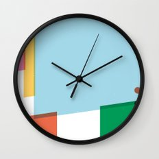 SECRET CYCLING FLAG - PANTANI Wall Clock