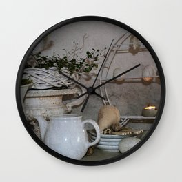 Shabby Charme Happy Easter Wall Clock