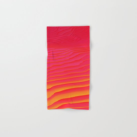 Heat Burst Hand & Bath Towel
