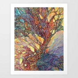 Emerging with Dawn Art Print