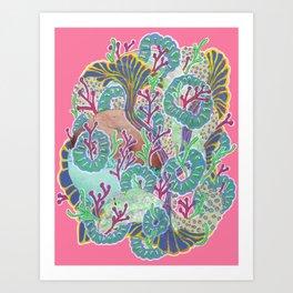Alien Organism 11 Art Print