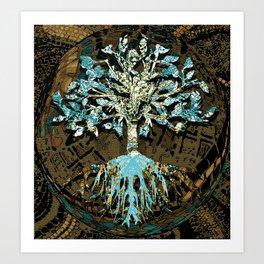 Grounded by Faith Art Print