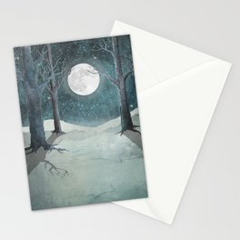 Moon Glow II Stationery Cards